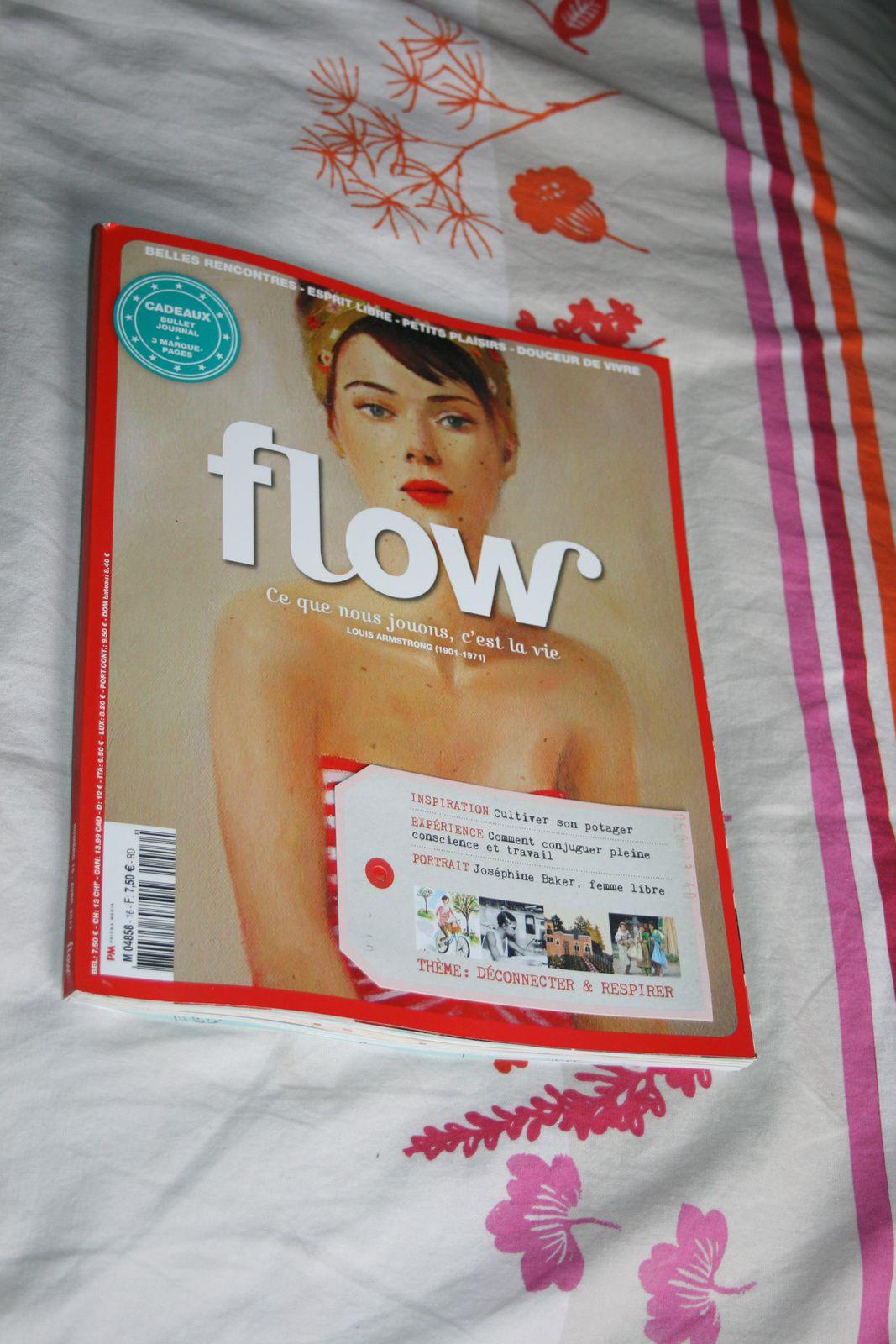 #flow n16 avril 2017 #magazine #charlotteblablablog