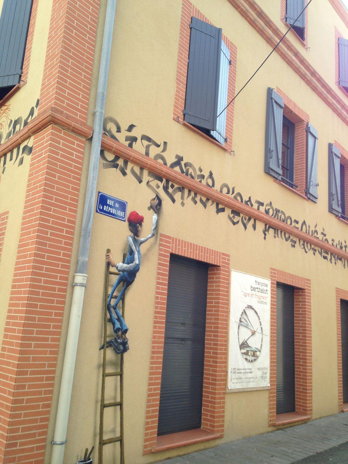 #lombez #france sur #charlotteblabla blog