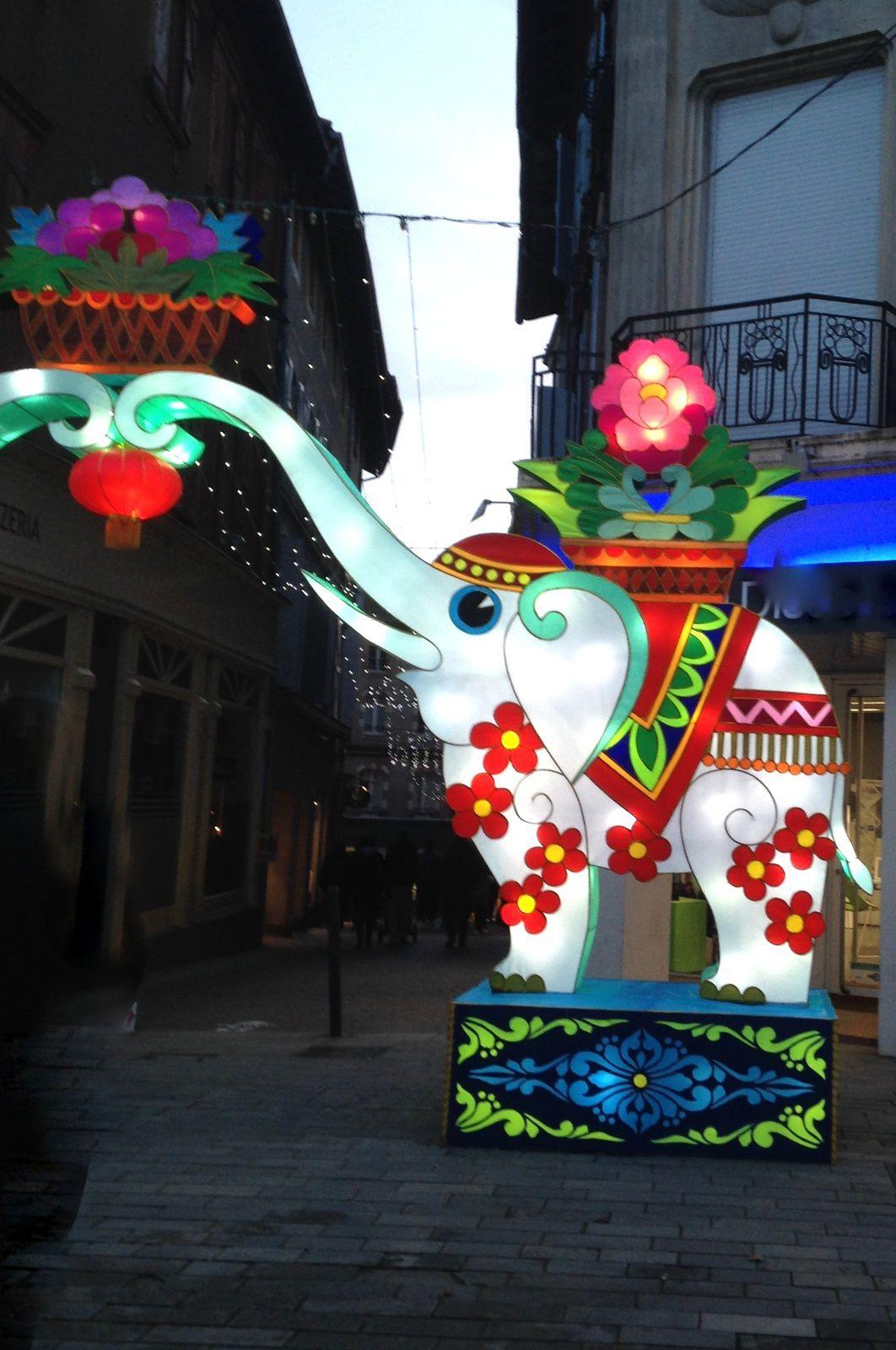 #lanternes  chinoises #gaillac #feeries #charlotteblabla blog