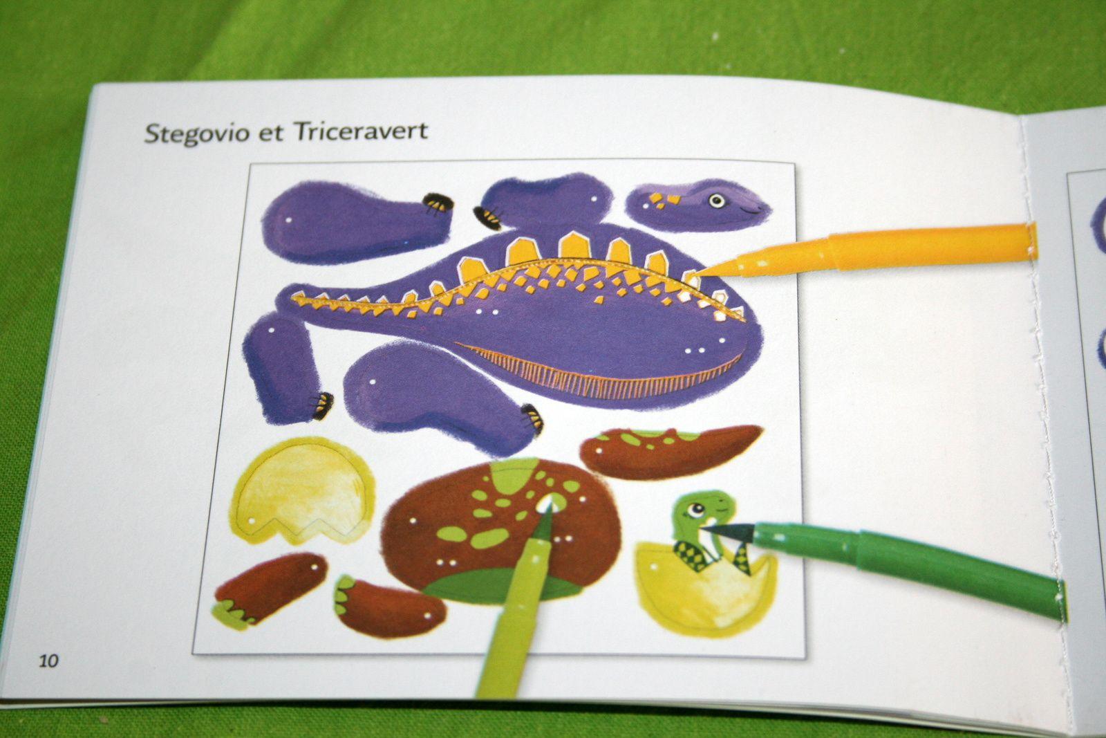 #dinosaure #marionnette #pantin #djeco #charlotteblabla blog