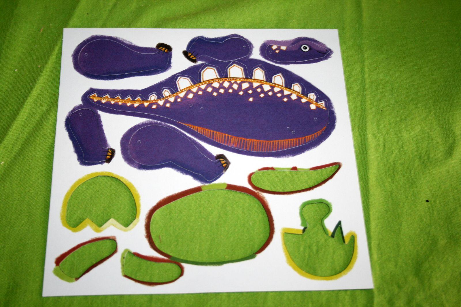 #kit #dinosaure #marionnette #pantin #djeco #charlotteblabla blog