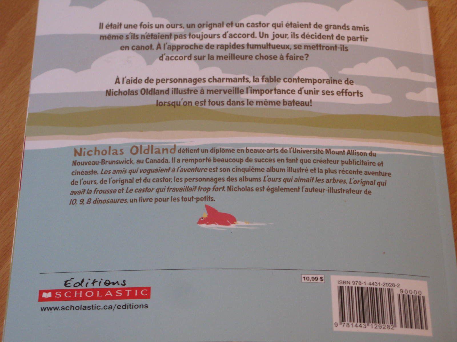 les amis qui voguaient à l'aventure de nicholas Oldland sur charlotteblabla blog