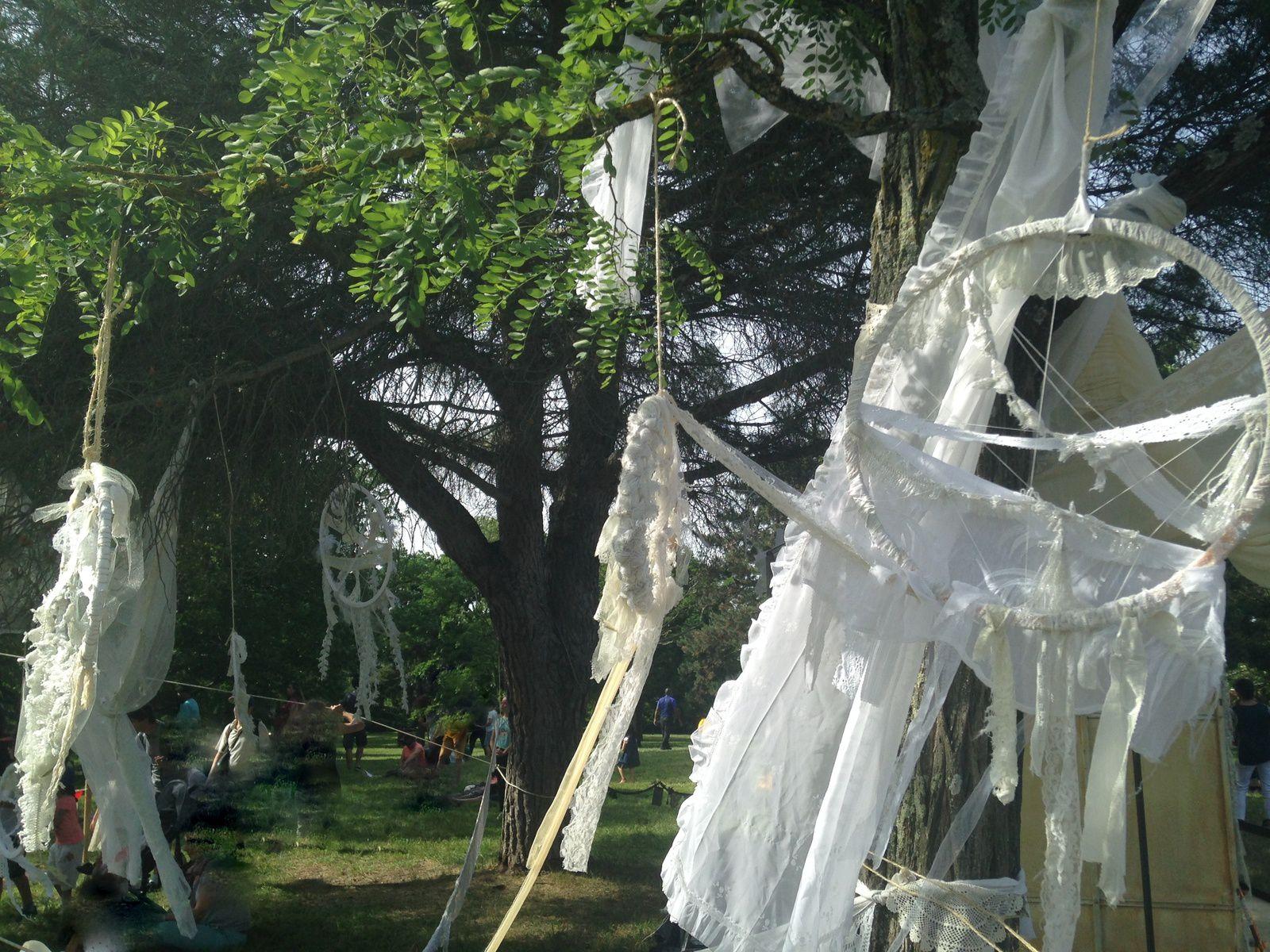 #dentelle #decoration#irrels #festval #luluberlu #blagnac #charlotteblabla blog