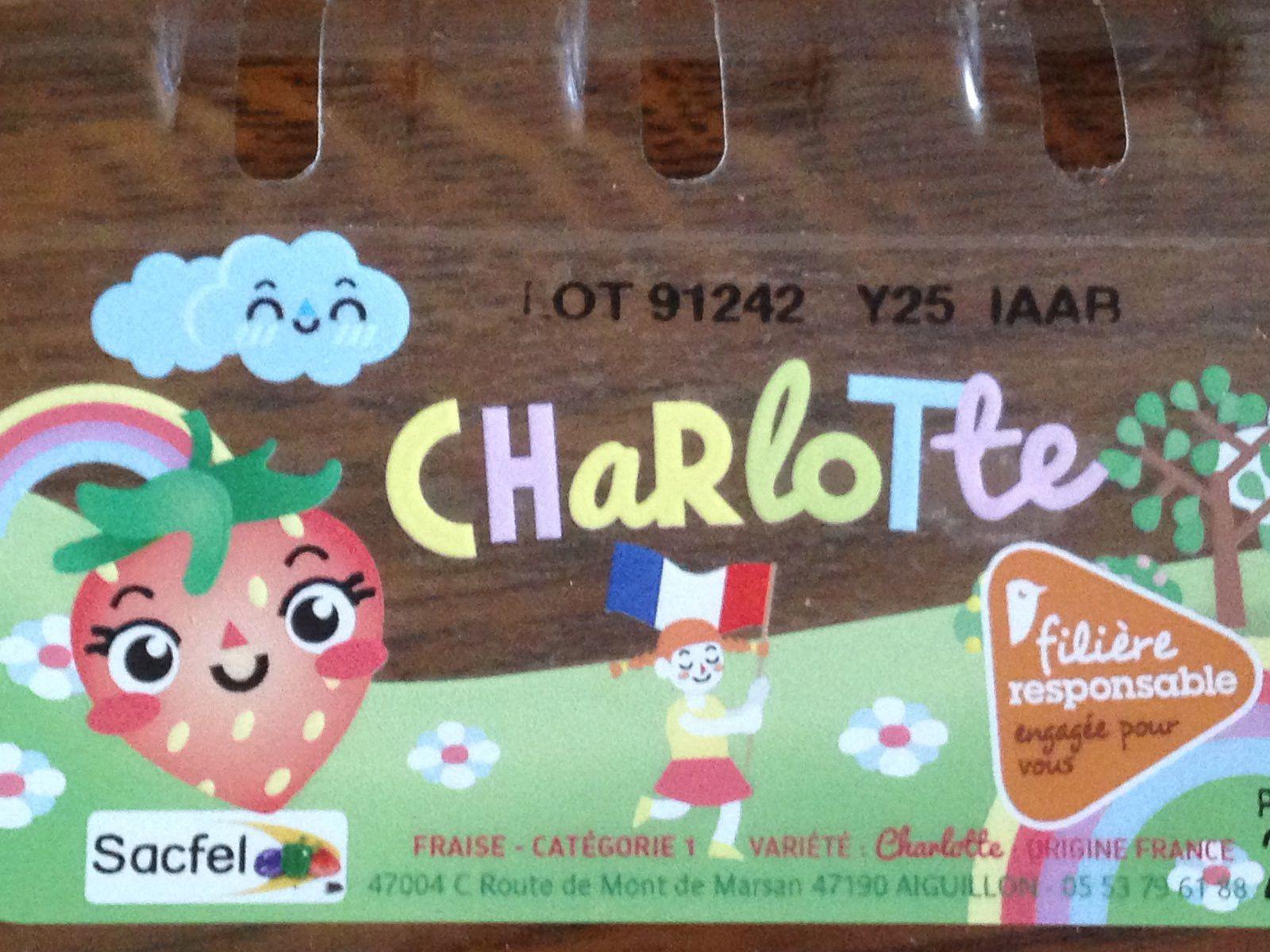 #fraise #charlotteblabla blog