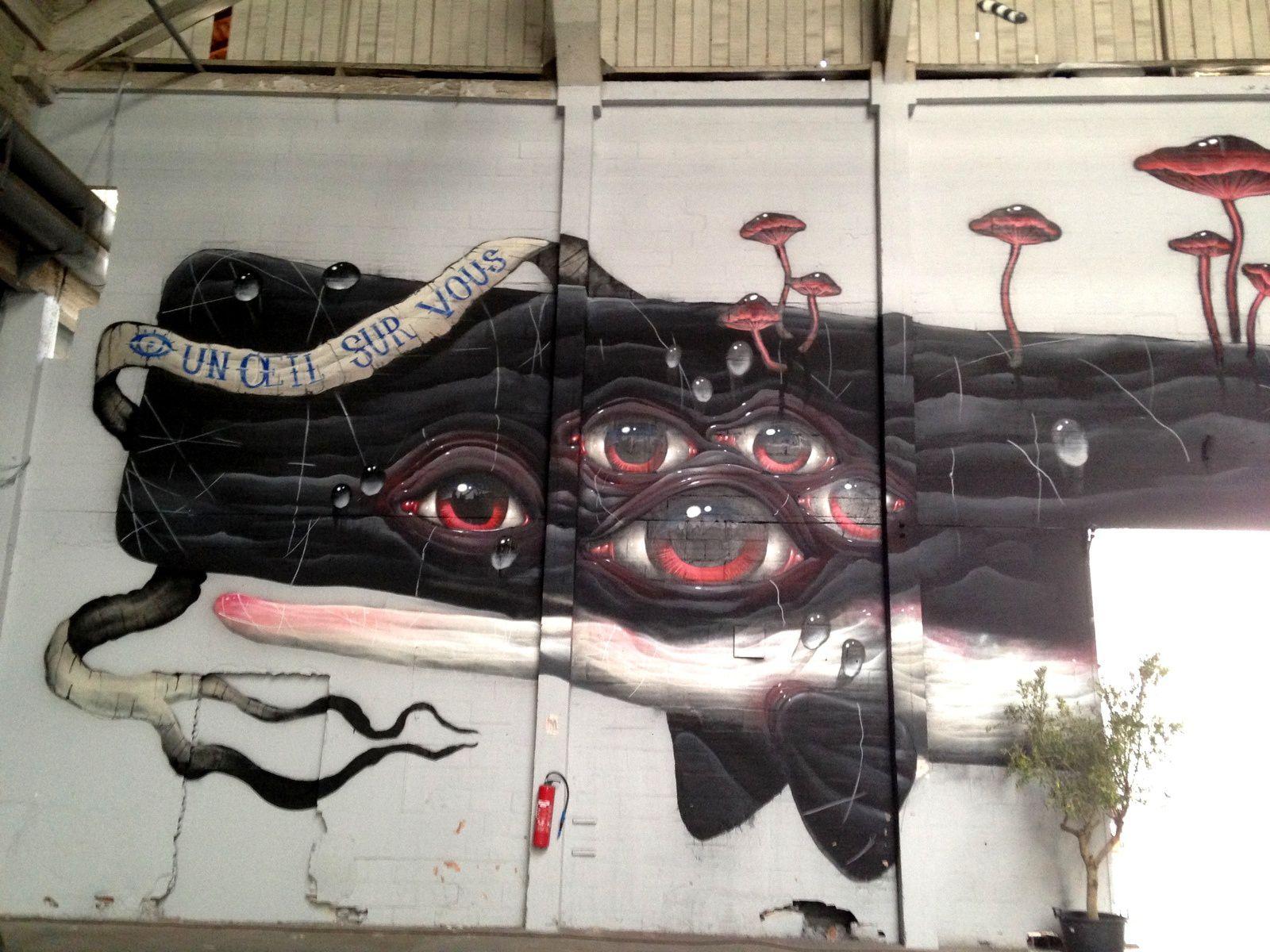 #animaux #fresque #murale #misterfreeze #exposition  #charlotteblabla blog