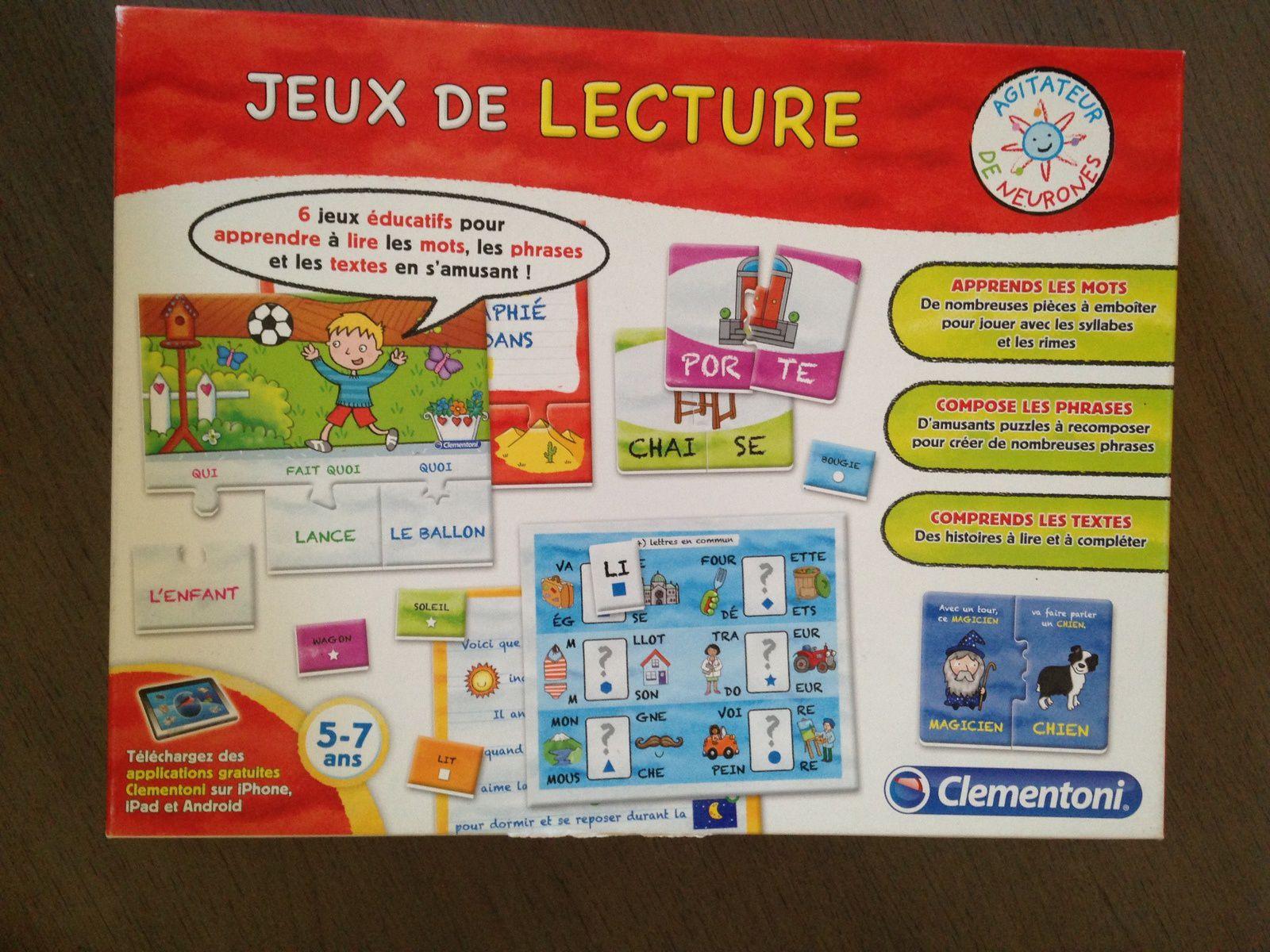 #clementoni  #jeu #apprentissage de la #lecture #charlotteblabla blog