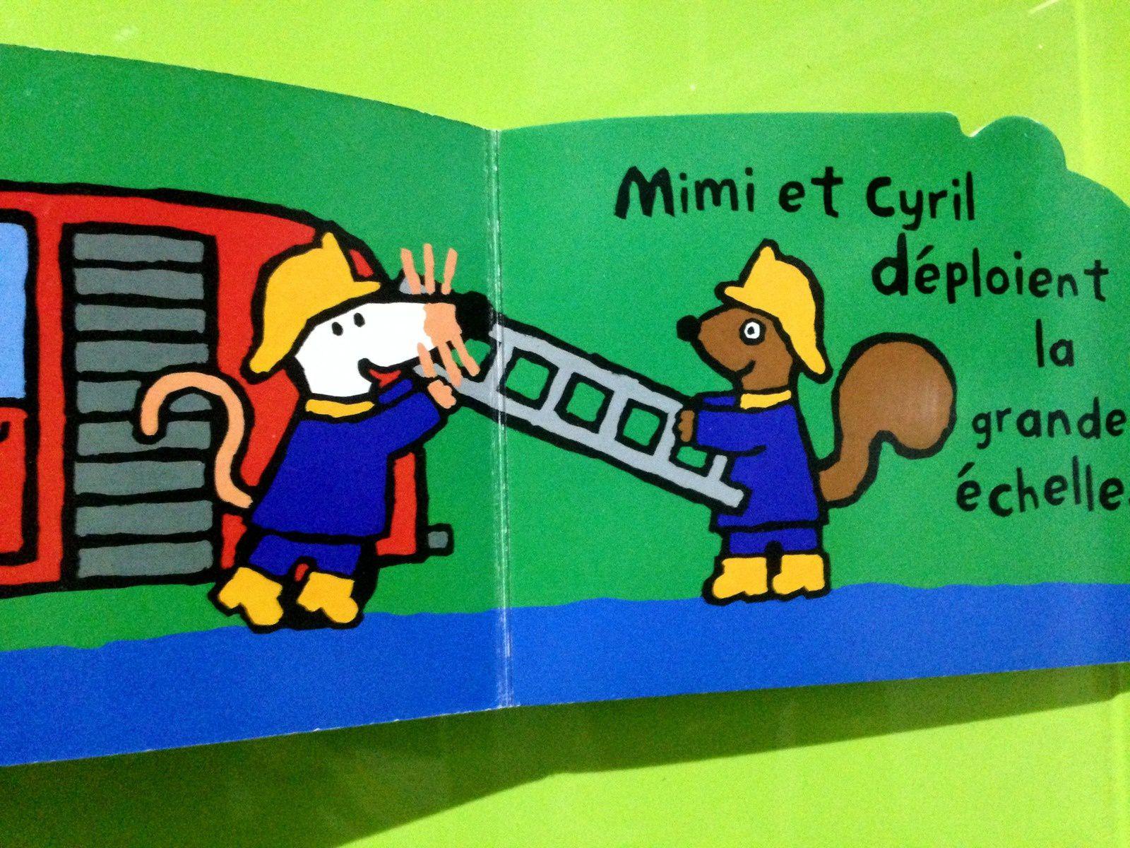 #mimilasouris #maisy #camiondepompier #livre #charlotteblabla blog