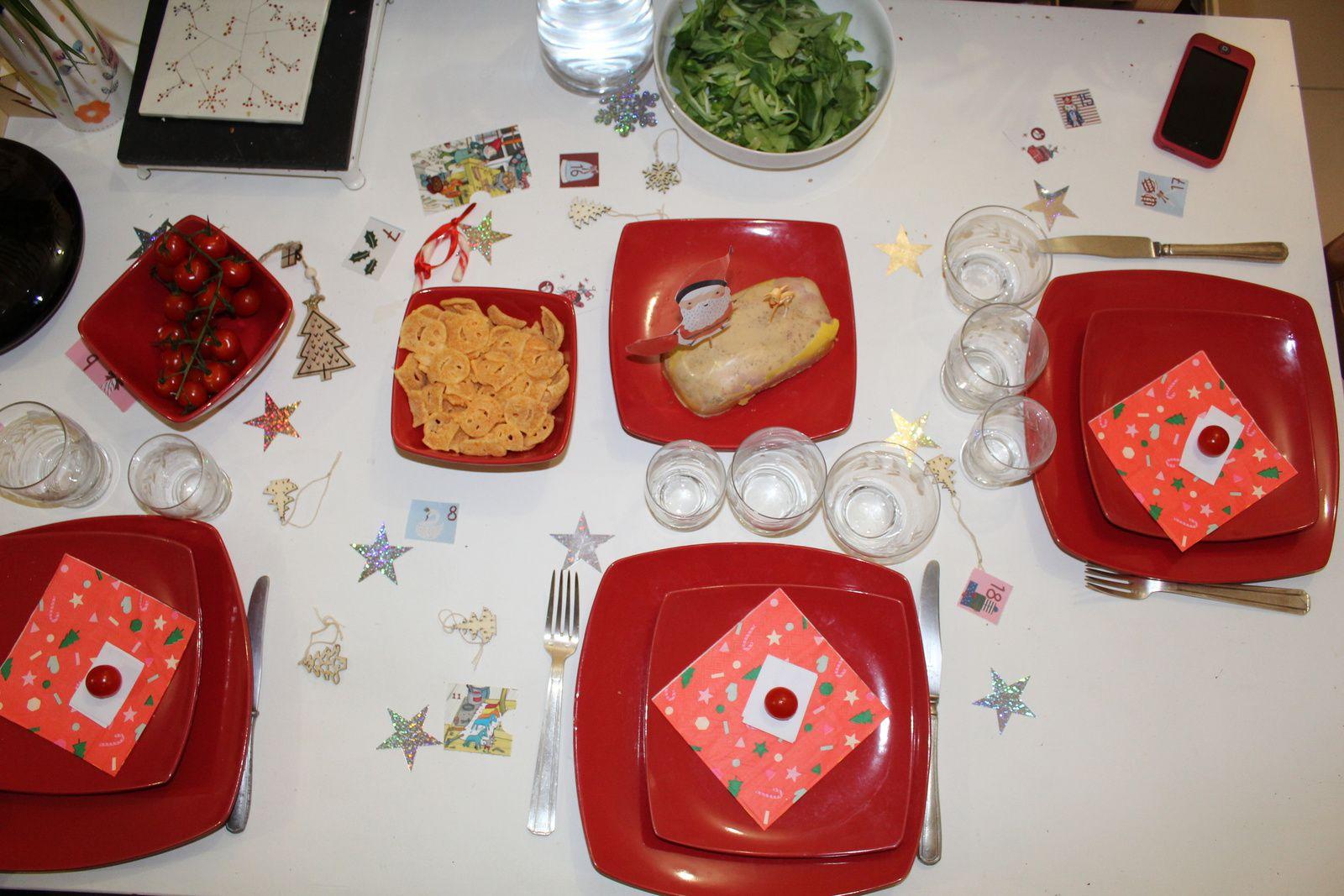 #tabledereveillon #decorationdetable #rouge #fête #charlotteblabla blog