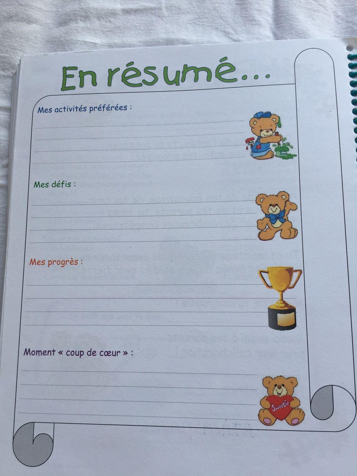 #journaldebord #enfants #carnetdeliason #creche #assistantematernelle #charlotteblabla blog