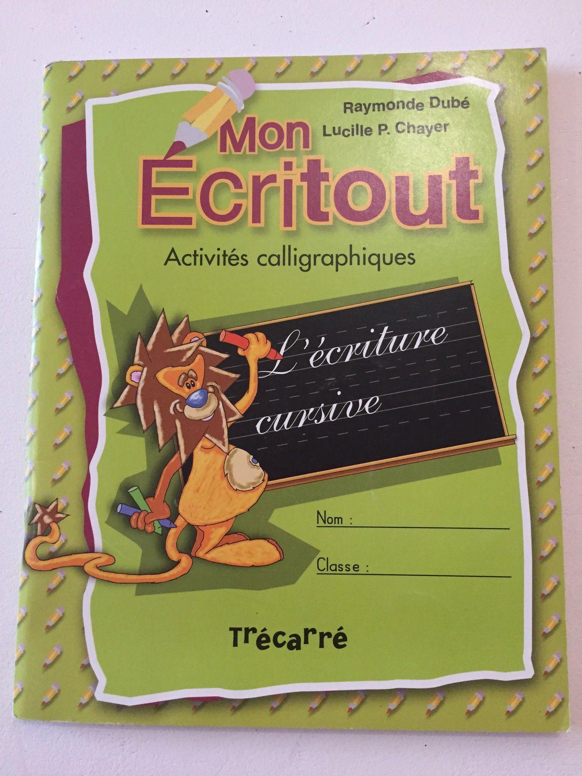 """#ecritout #cahierexercice #Apprentissage l'#écriture #cursive """"charlotteblabla blog"""