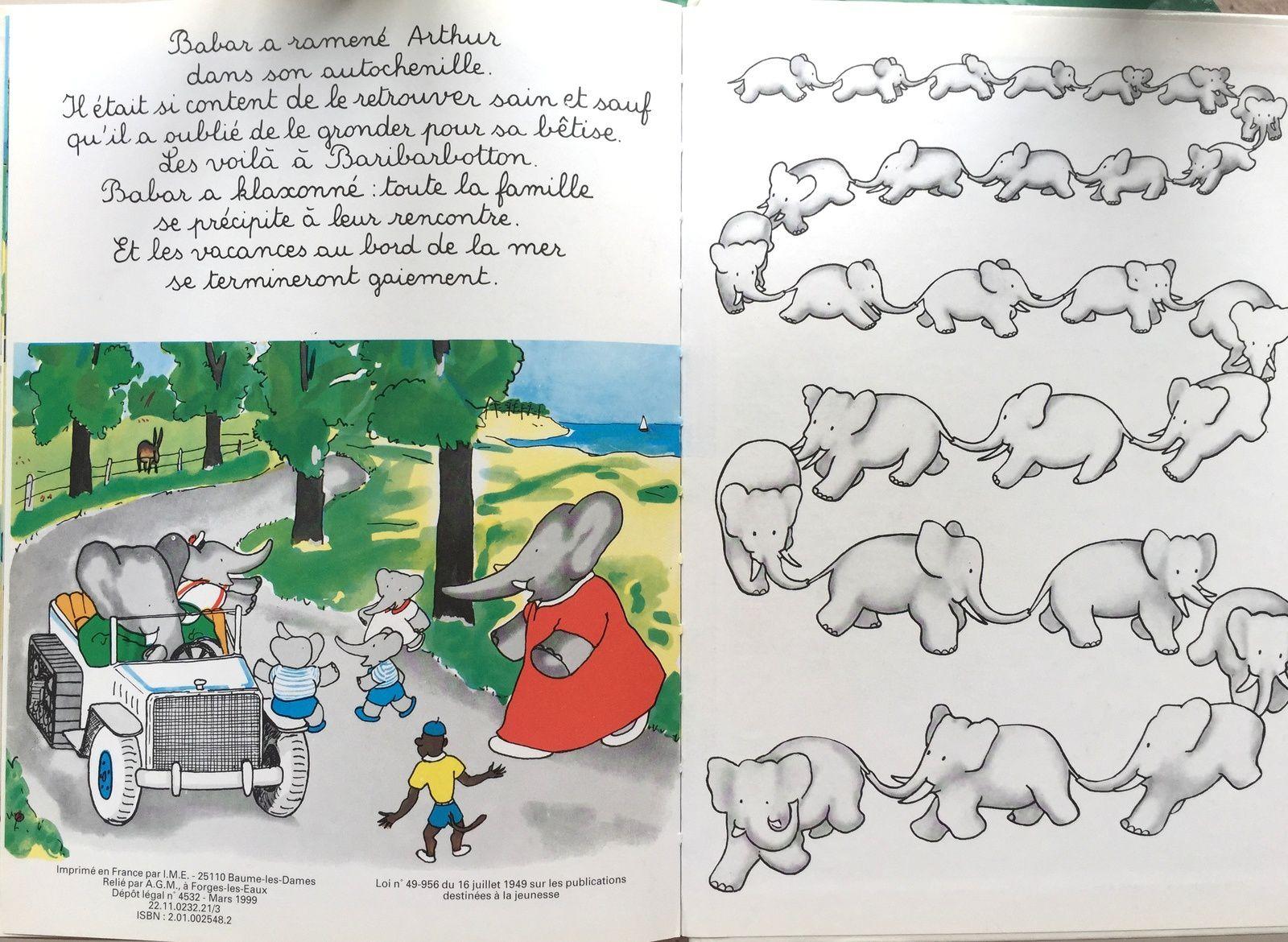 Babar et ce coquin d'Arthur, hachette jeunesse edition, voyage vacances, livre enfant sur #charlotteblabla blog