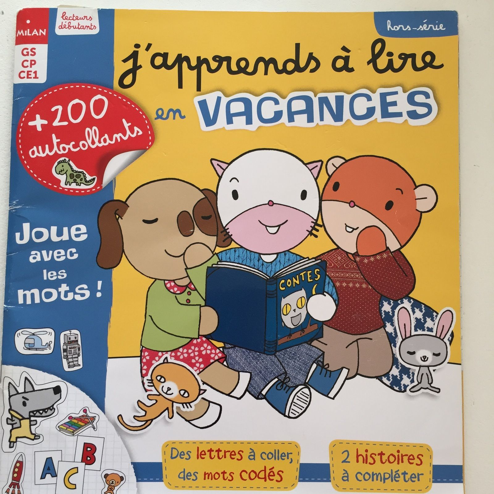"Magazine ""j'apprends à lire """