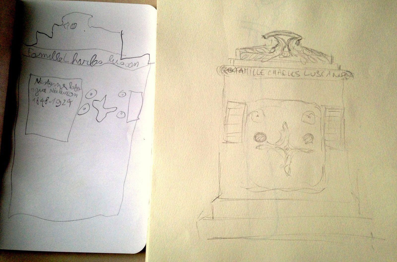 dessiner avec son enfant activite croquis dessins sur charlotteblabla blog