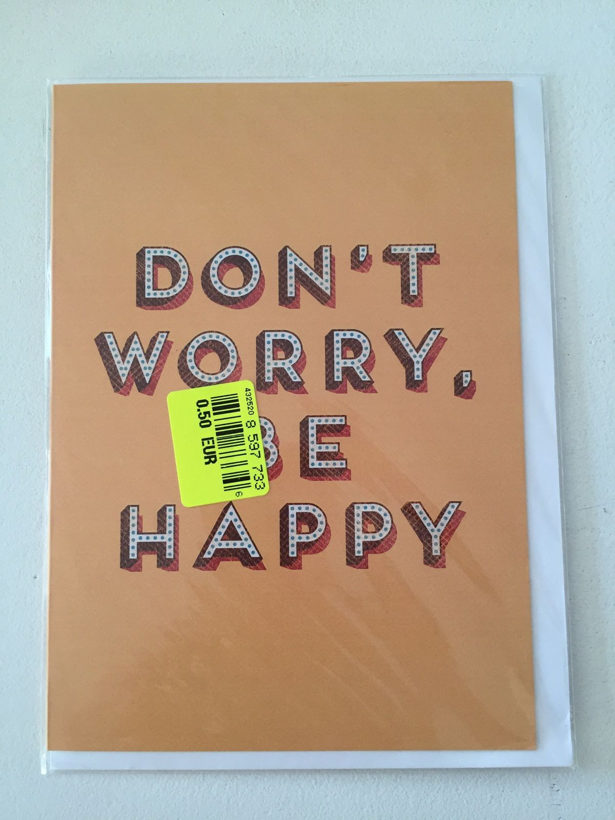 don't worry be happy carte postale sur charlotteblablablog