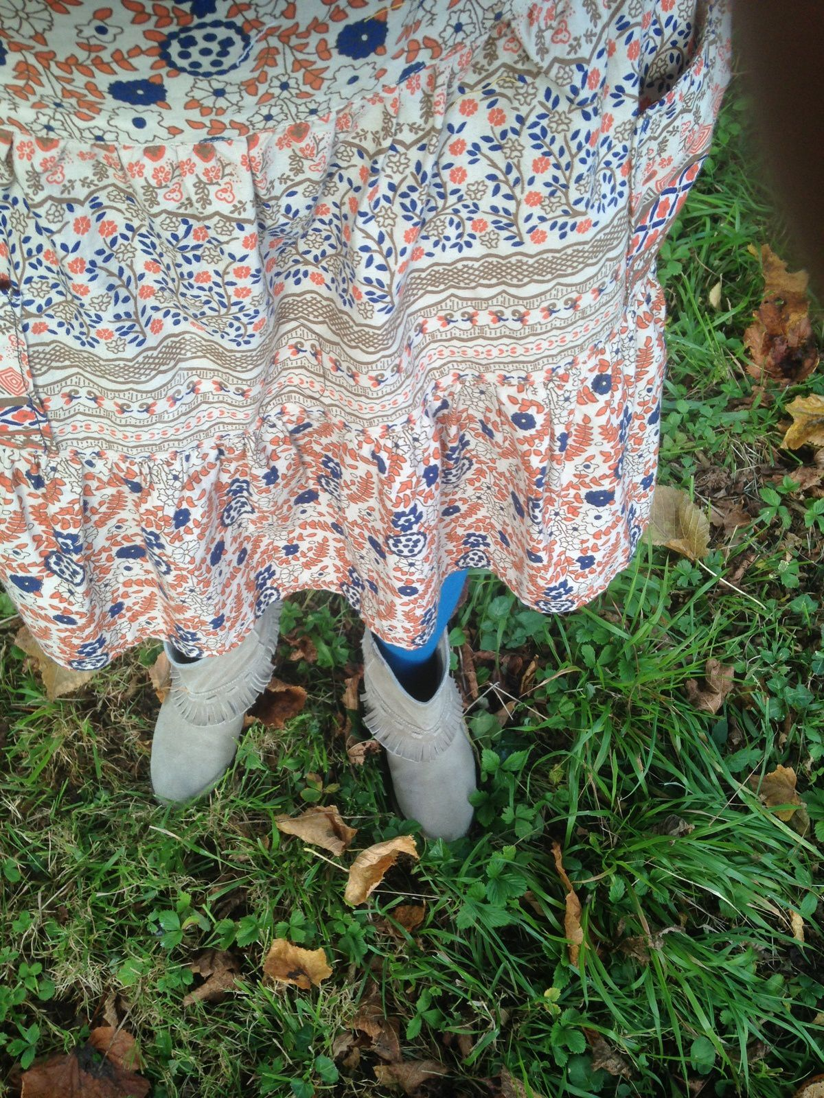 transformation 2 jupes en une jupe sur charlotteblablablog