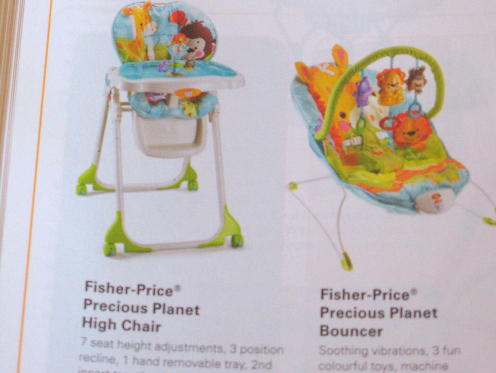 transat bébé fisher price , collection planet jungle happy giraffe bouncer,sur charlotteblabla blog