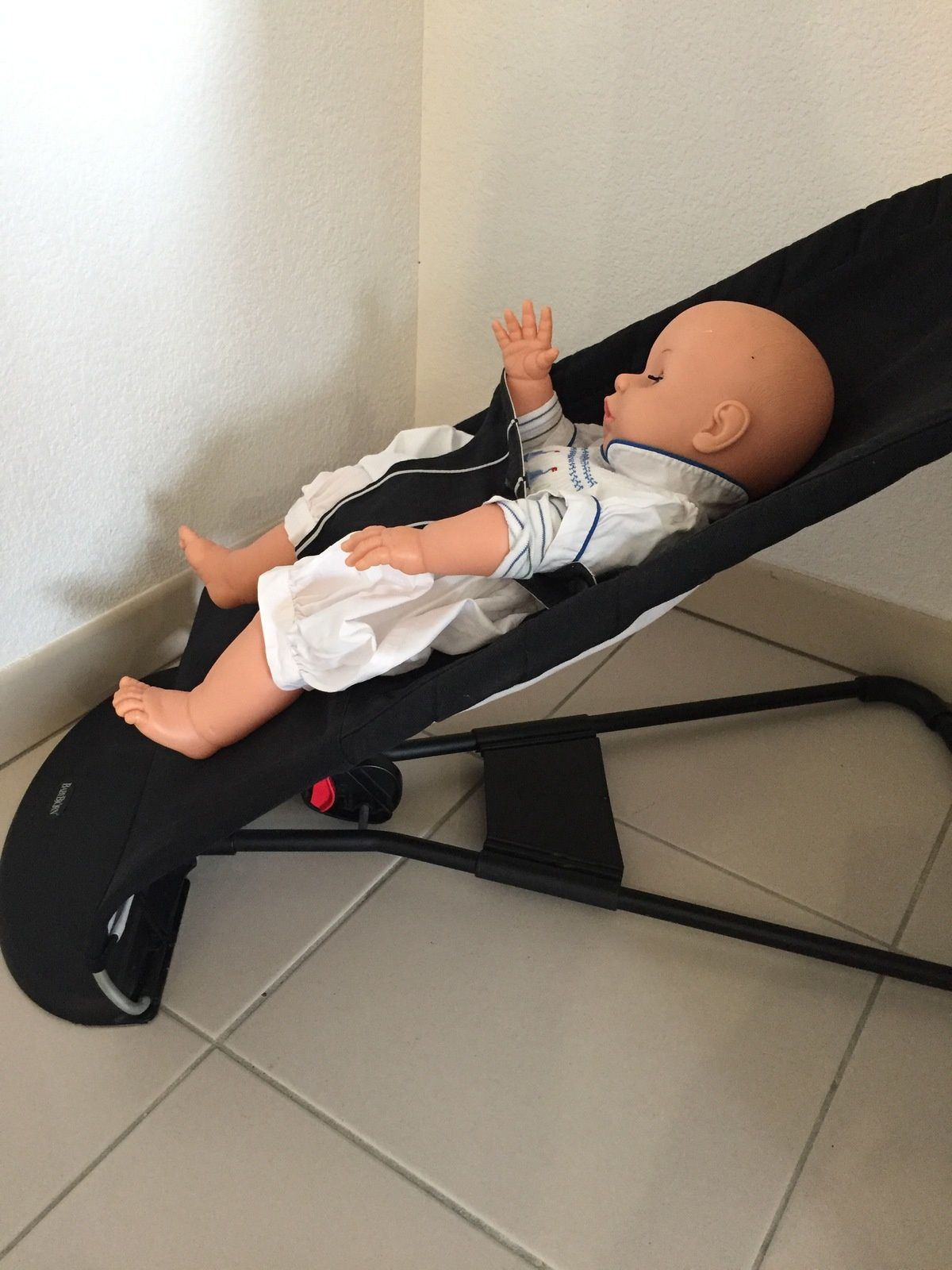 transat bébé born balance noir et argent sur charlotteblabla blog