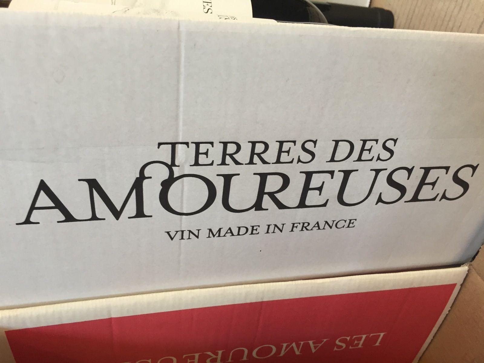 terre amoureuse domaine de vignoble, le vin qui rend amoureux sur charlotteblablablog