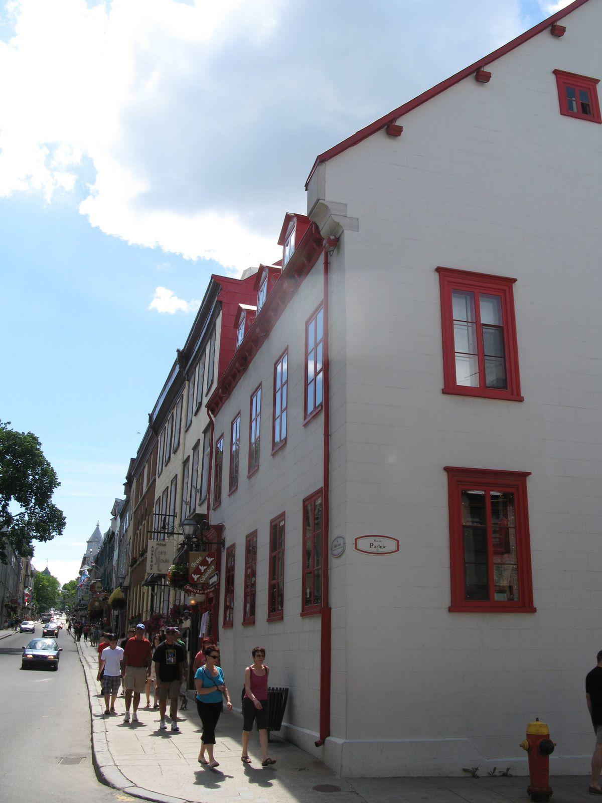 rue de la ville de quebec sur charlotteblablablog