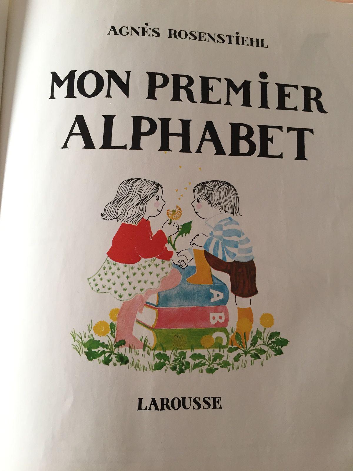 livre pour enfant mon premier alphabet - larousse- rosenstiehl sur charlotteblabla blog