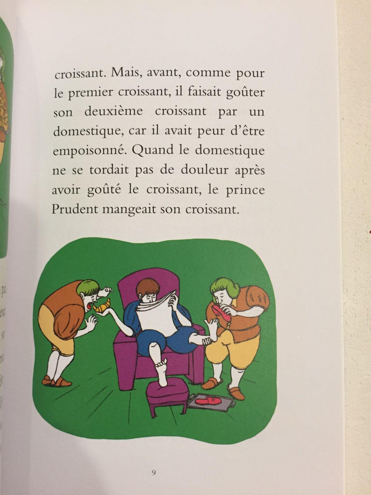 Le principal problème du prince Prudent Christian Oster- Adrien Albert, livre école des loisirs sur charlotteblablablog