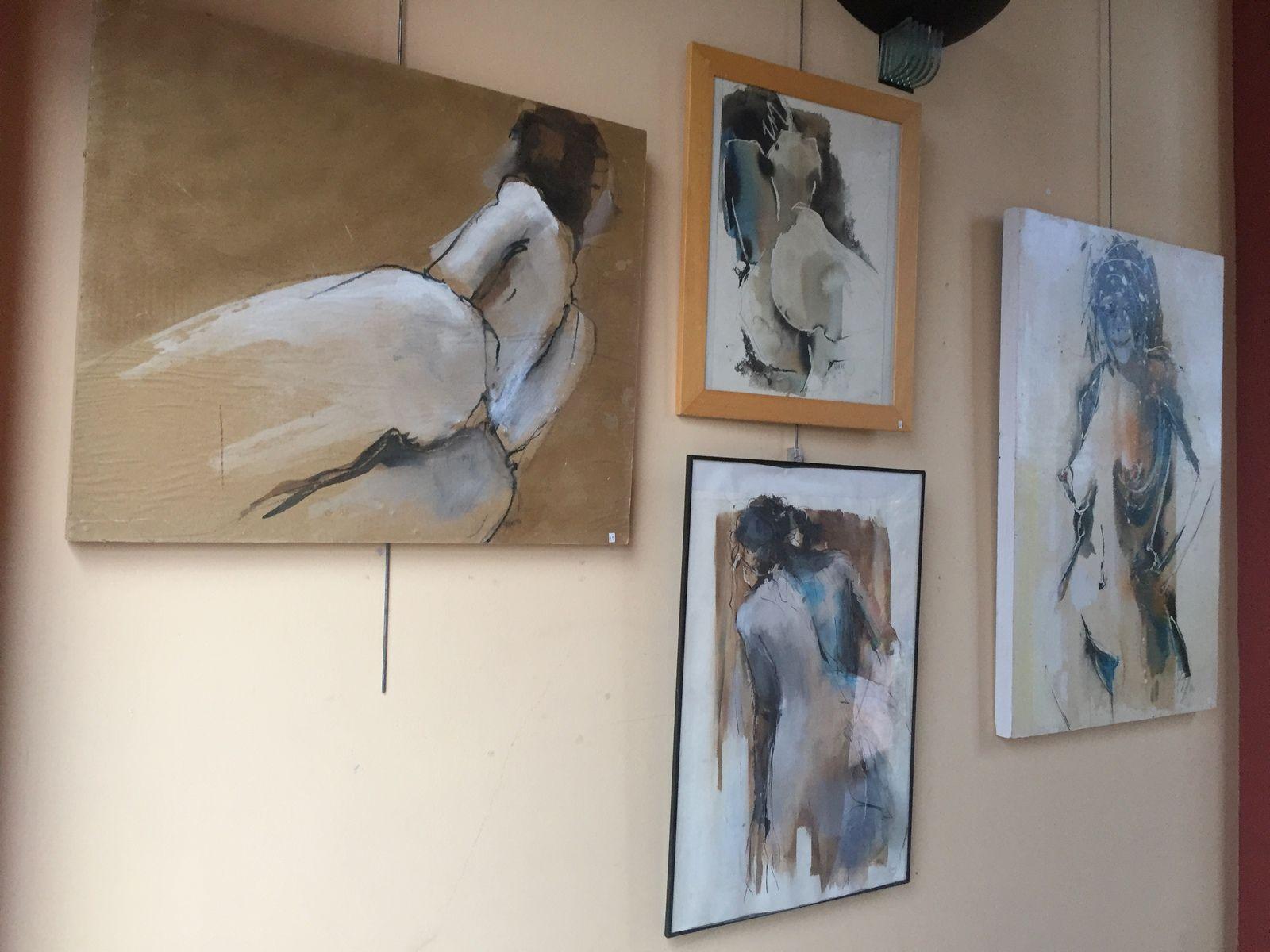 exposition peinture art pibrac daniel sentenac