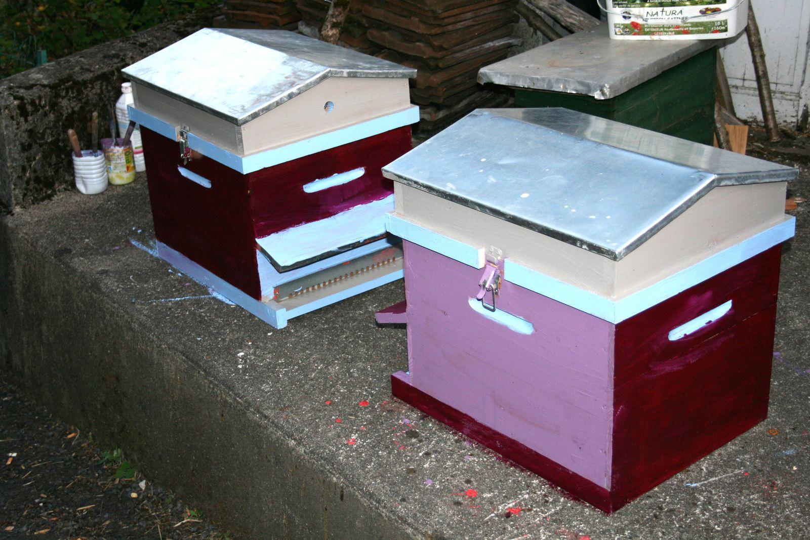ruche d'abeilles sur charlotteblabla blog
