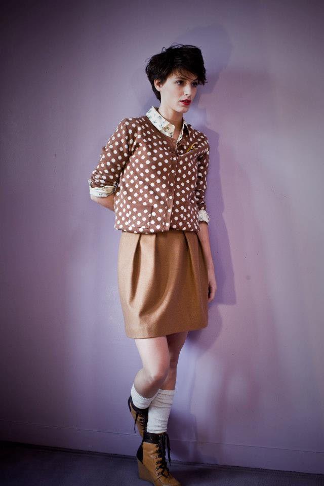 pull gilet mode femme créateur Blancs Manteaux Paris sur charlotteblabla blog