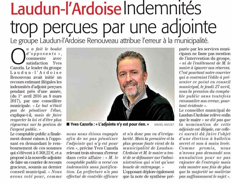 Article midi libre du 3 mai 2017