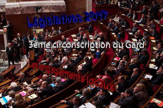 Lettre aux candidats : Engagements de Geneviève SABATHE pour le territoire de la 3ème circonscription du Gard