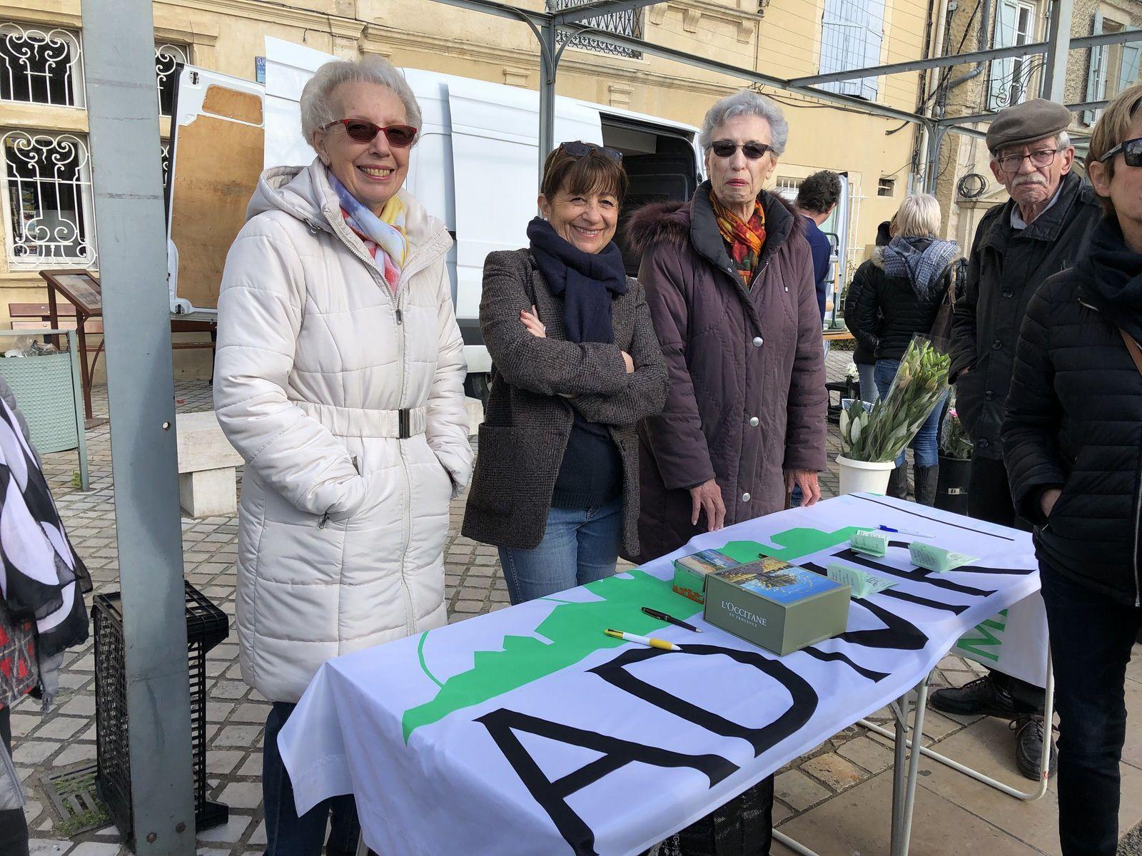 Marché de Laudun le 17 février 2019