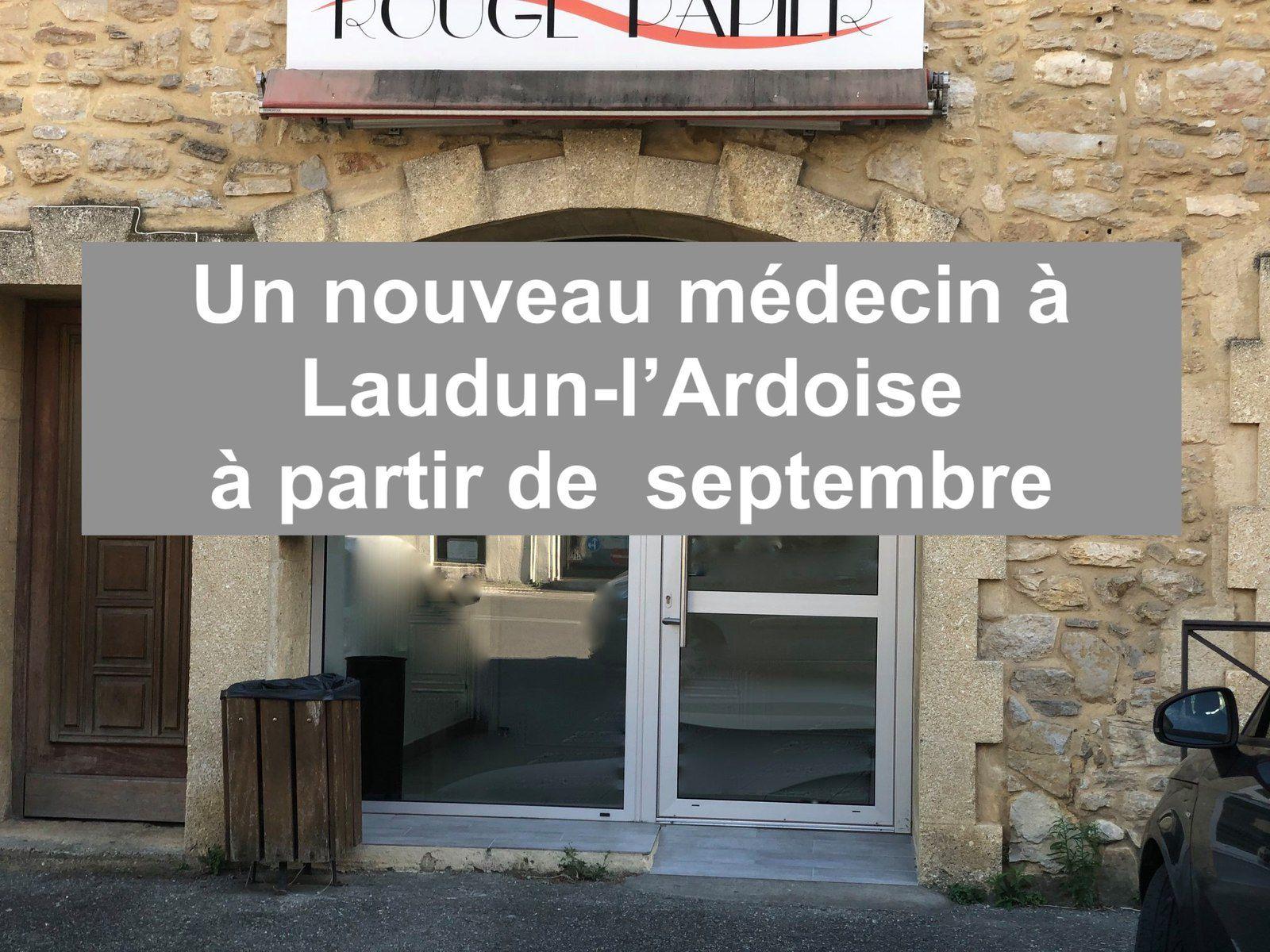 Laudun-l'Ardoise aura un nouveau médecin en septembre