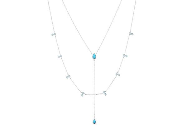 collier Clio blue-Linea Chic