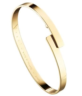 bracelet doré Ursul Paris - Linea Chic