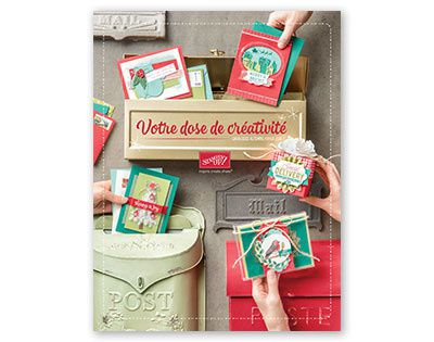 catalogue automne hiver stampin'up 2017 NOEL