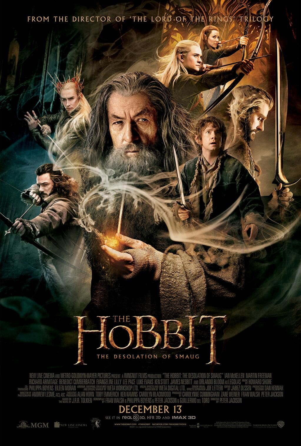 """The Hobbit 2 "" : la Désolation de Smaug"