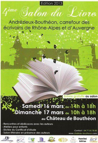 Dédicace : 16 & 17 mars 2013 Château de Bouthéon (42, Loire)