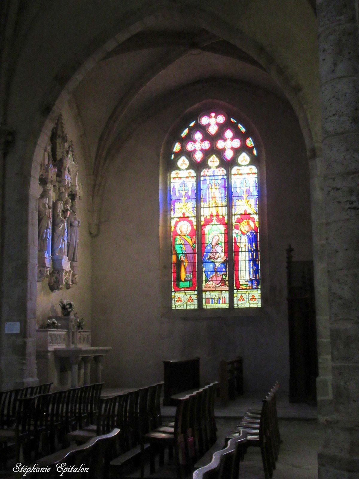 Collégiale Notre Dame d'Espérance intérieur (42600 Montbrison)