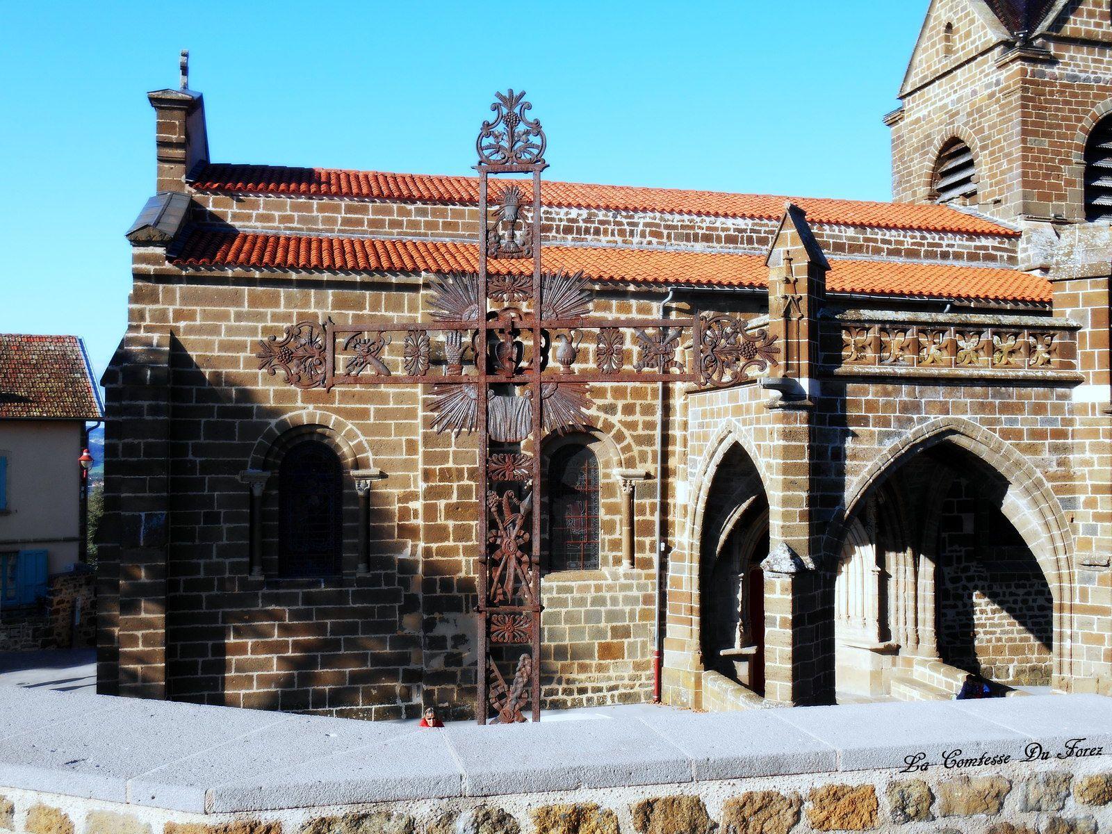 Église Saint-Martin de Polignac (43000 haute Loire)