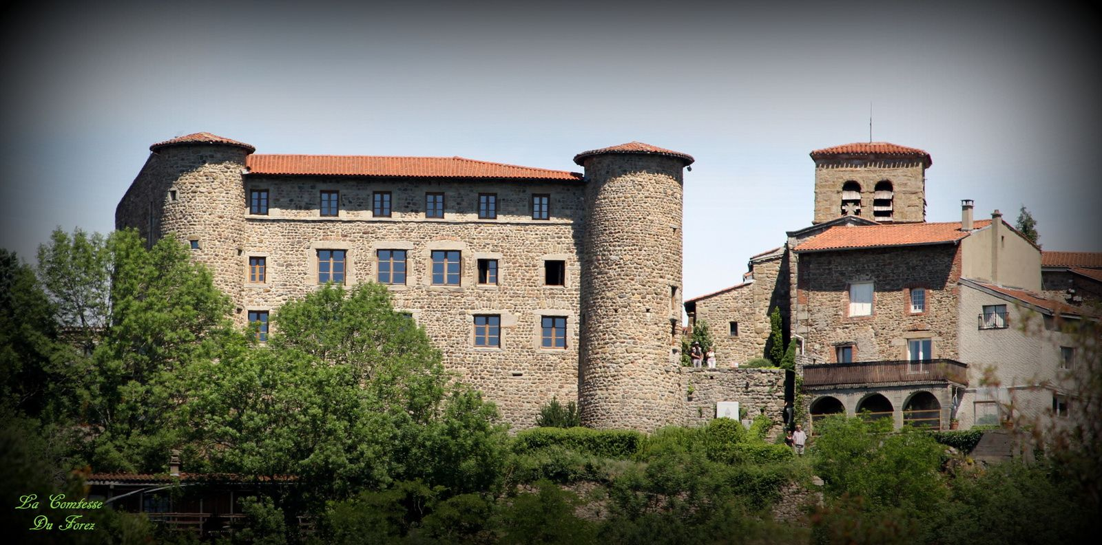 le château de saint-Victor