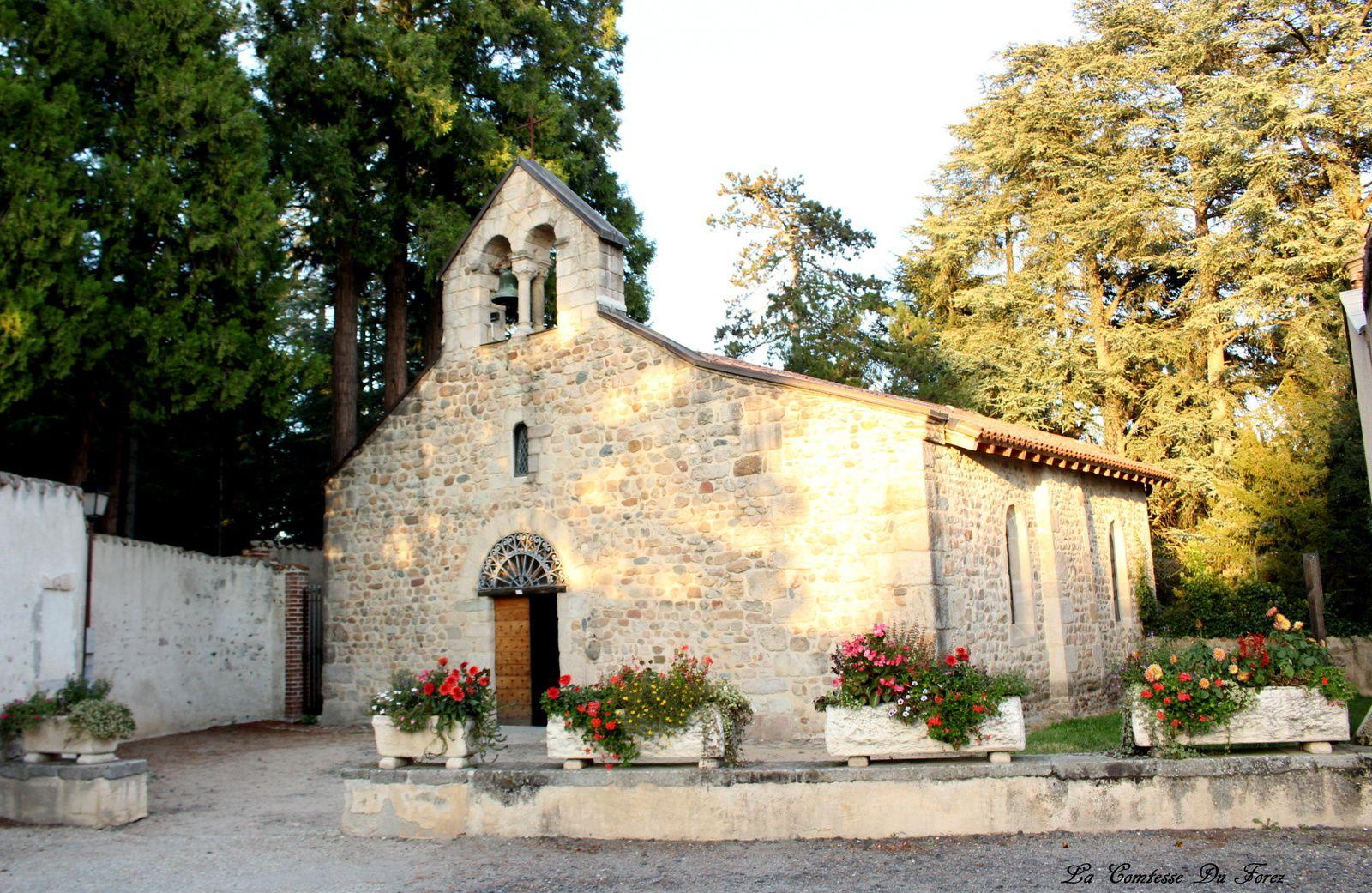 La chapelle date de la fin du Xle siècle.