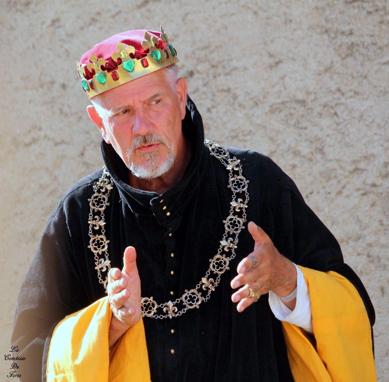 Fêtes médiévale de Montrond-les-Bains (Le Roi)