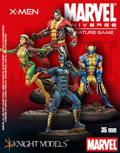 Knight model arrête Marvel Miniature Games