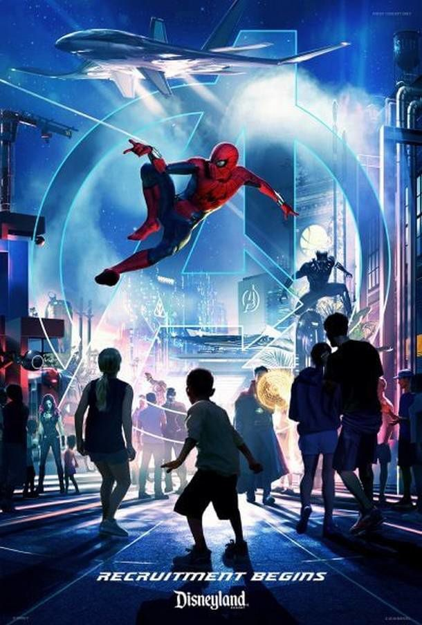 Spider-Man et Iron Man s'installent aussi à Disneyland en Californie
