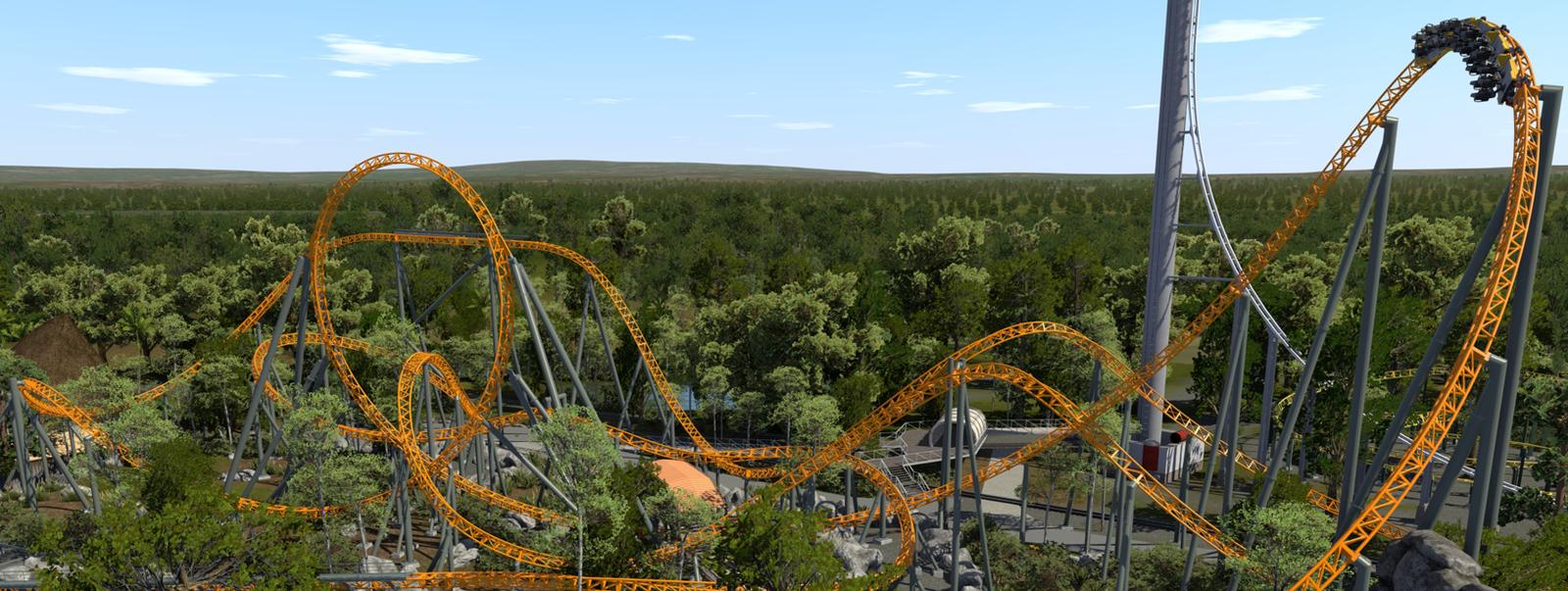 Le parc Dreamworld s'offre un grand huit plein de sensations