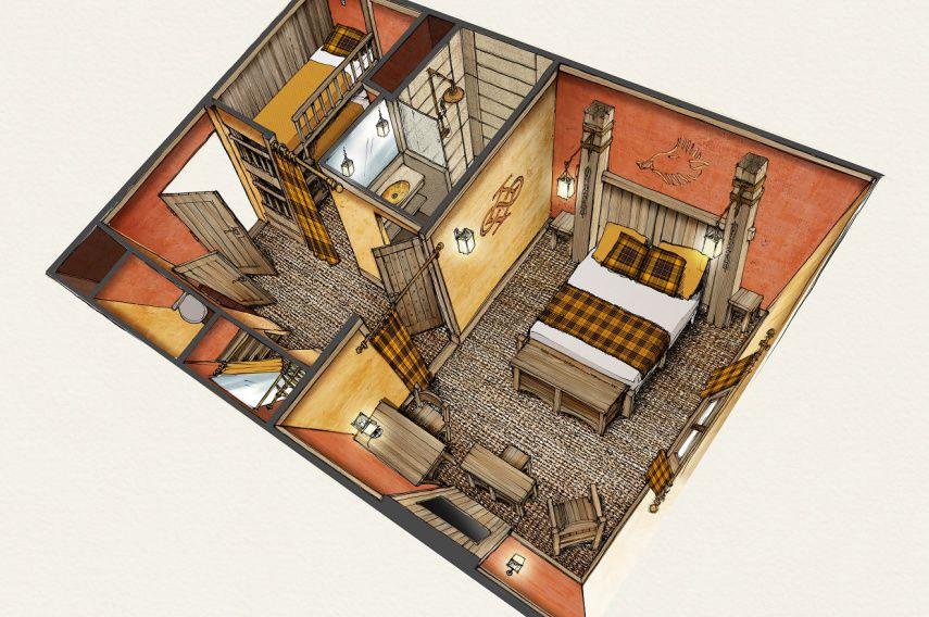 Le Parc Astérix complète son offred'hébergements avec un troisième hôtel