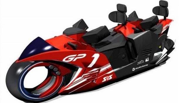 Un Dueling Motorbike Coaster pour le parc d'attractions du Circuit de Suzuka au Japon