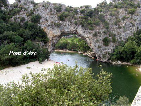 Séjour en Ardèche : Vogüé suite ...
