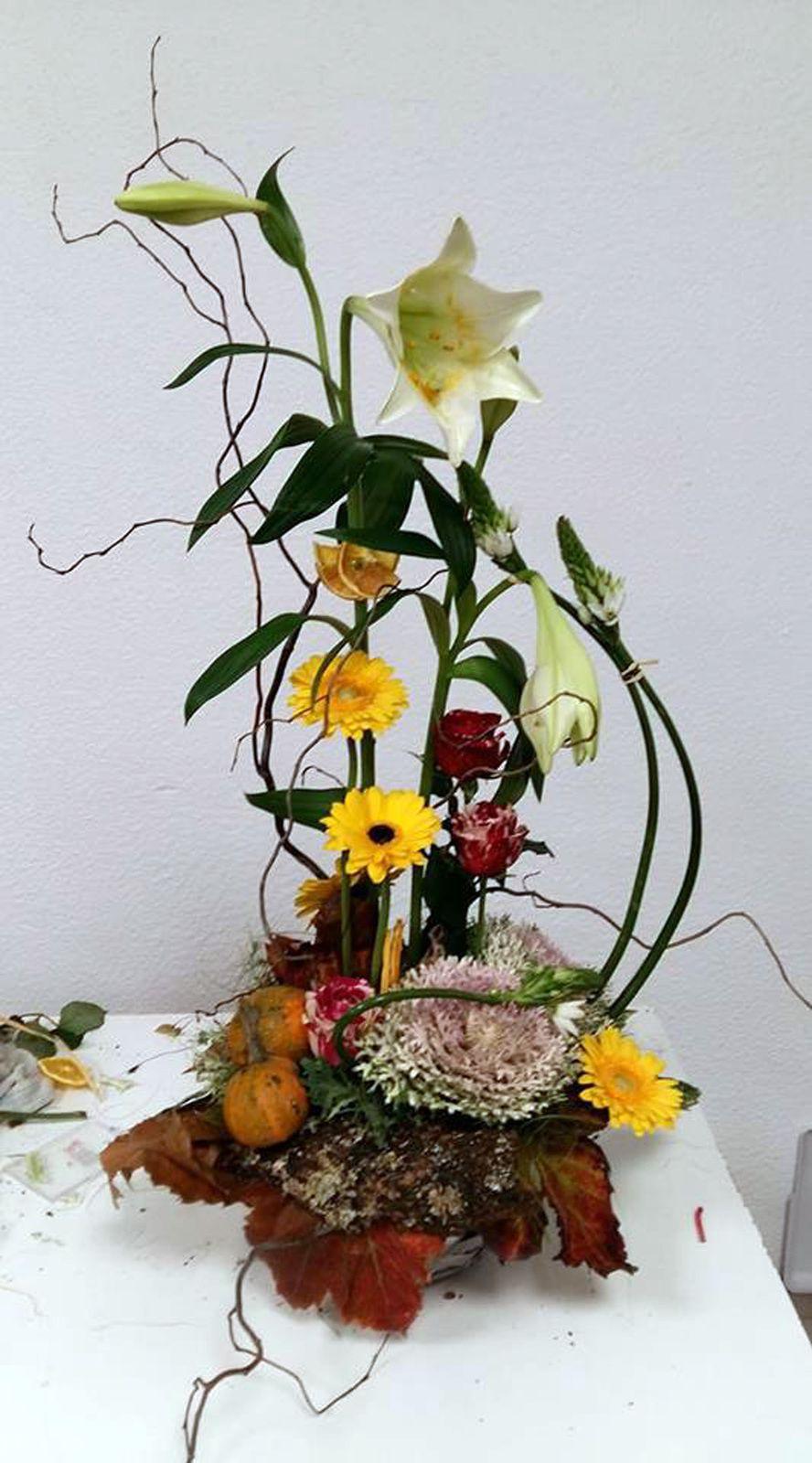 Composition Florale Centre De Table Automne r�union art floral de novembre : l'automne est l� - le blog