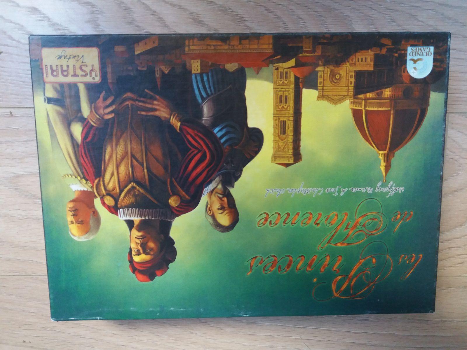 """Le 494e jeu : """"Les Princes de Florence"""". Trouvé d'occasion en version française éditée par Ystari incluant les cartes de l'extension. Un jeu d'excellente réputation que j'ai hâte de tester."""